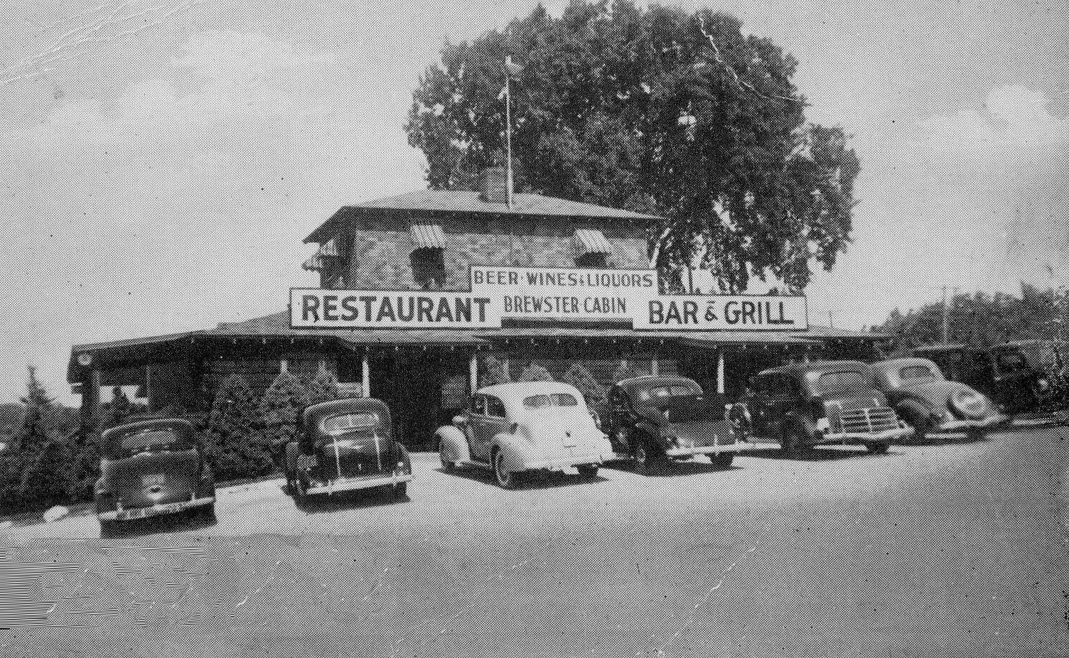 Brewster Cabin Bar & Grill, RT 6 & 22, Brewster NY, Putnam County