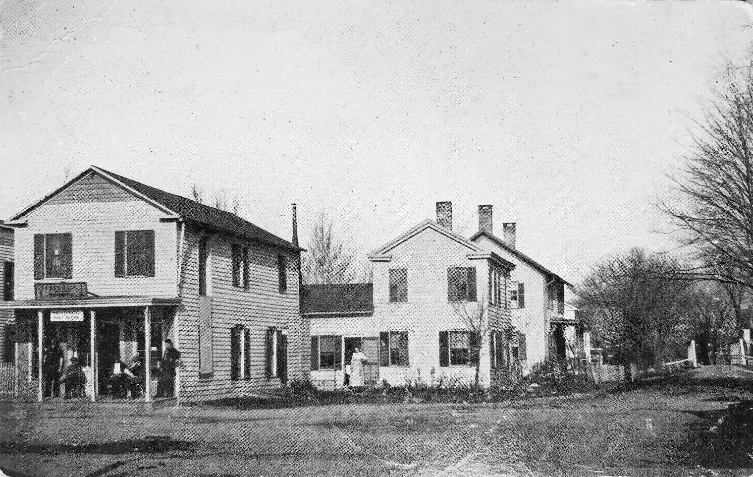 Bridge Ave, Poestenkill NY, Rensselaer County c 1912