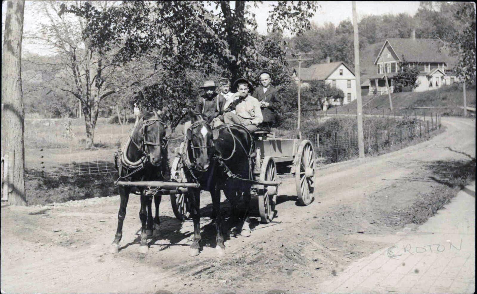 Croton On Hudson NY, Westchester County c1910