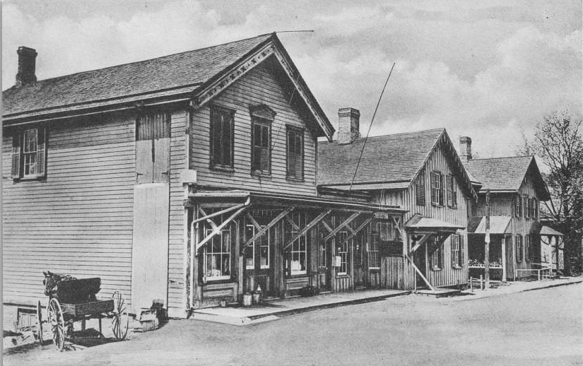Forson Brothers General Store, Garrison NY, Putnam County c1908