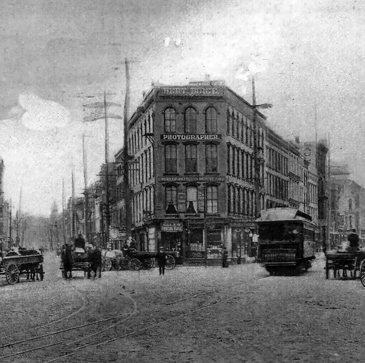 Franklin Square in Troy, NY c1910