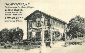 Linkdmark's Bookstore Advertising Postcard