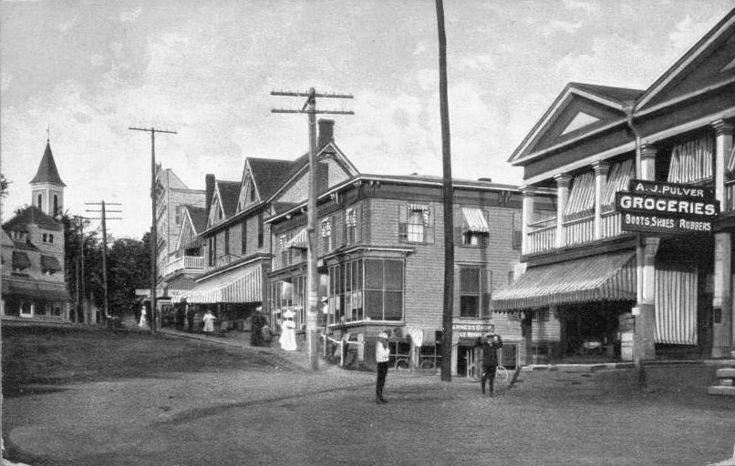 Main Street, Millerton NY, Dutchess County c1908