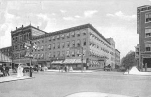 Morgan House, Main Street, Poughkeepsie NY, Dutchess County 1910