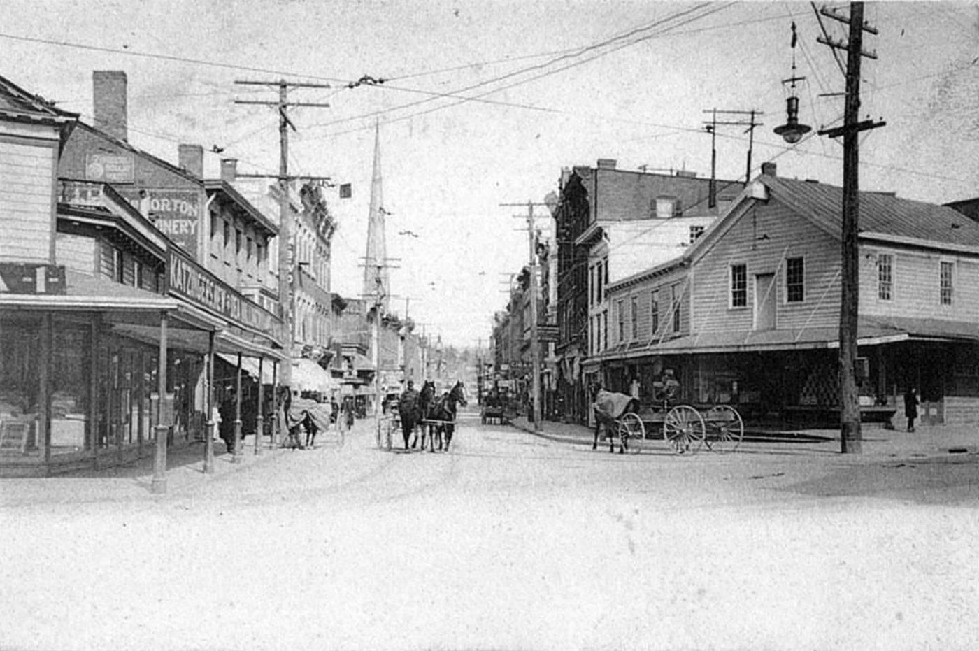 North Street, Middletown NY, Orange County c1905
