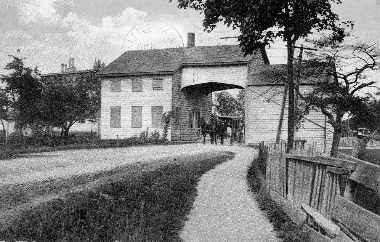 Ravena-NY-Tollgate-Albany-County-c1890