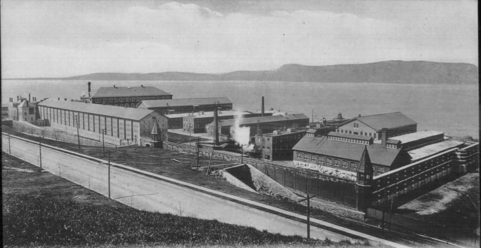 Sing Sing Prison, Ossining NY, Westchester County c1905