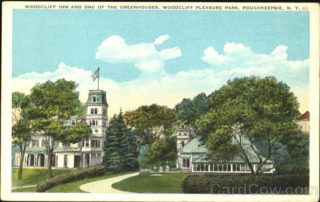Woodcliff Inn And One Of The Greenhouses, Woodcliff Pleasure Park Poughkeepsie